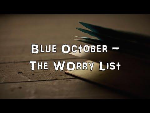 Blue October - The Worry List [Acoustic Cover.Lyrics.Karaoke]