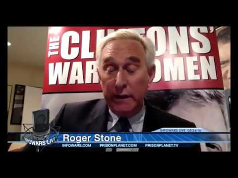 Alex Jones interviews Roger Stone May 24th 2016