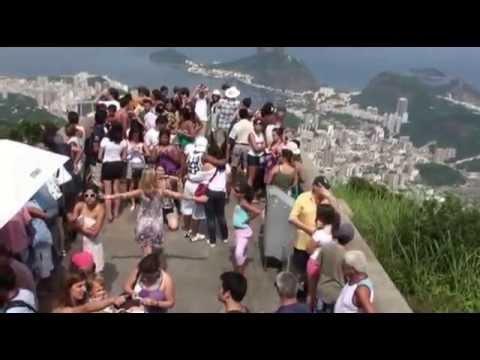 Travel guide 3 BRAZIL Rio de Janeiro: Parachute amazing flight; nature, tourists