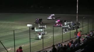 85 Speedway Sprint Car Wreck