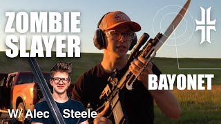 Shooting with ALEC STEELE + FORGING the 'Zombie Slayer 2000'