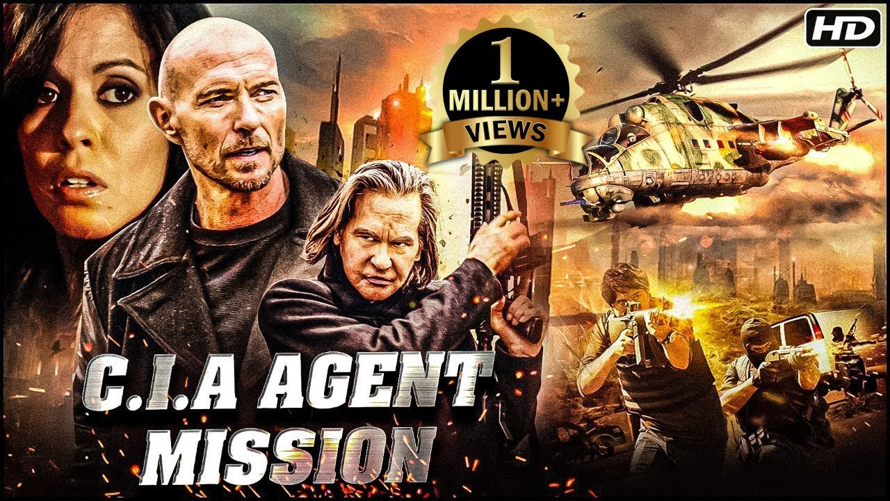 C.I.A Agent Mission Full Hindi Dubbed Movie | Hollywood Action Thriller Movies | Luke Goss Movies