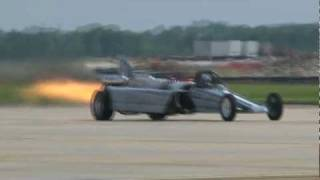 2011 Joint Services Open House - Smoke & Thunder Jet Dragster