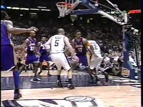 32dbc68c779 Jason Kidd 30 pts   10 ast vs Lakers - 2002 NBA Finals - Gm 3 - 6 9 ...