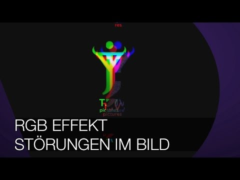 Glitch I RGB Effekt I Störungen im Bild I After Effects TUTORIAL