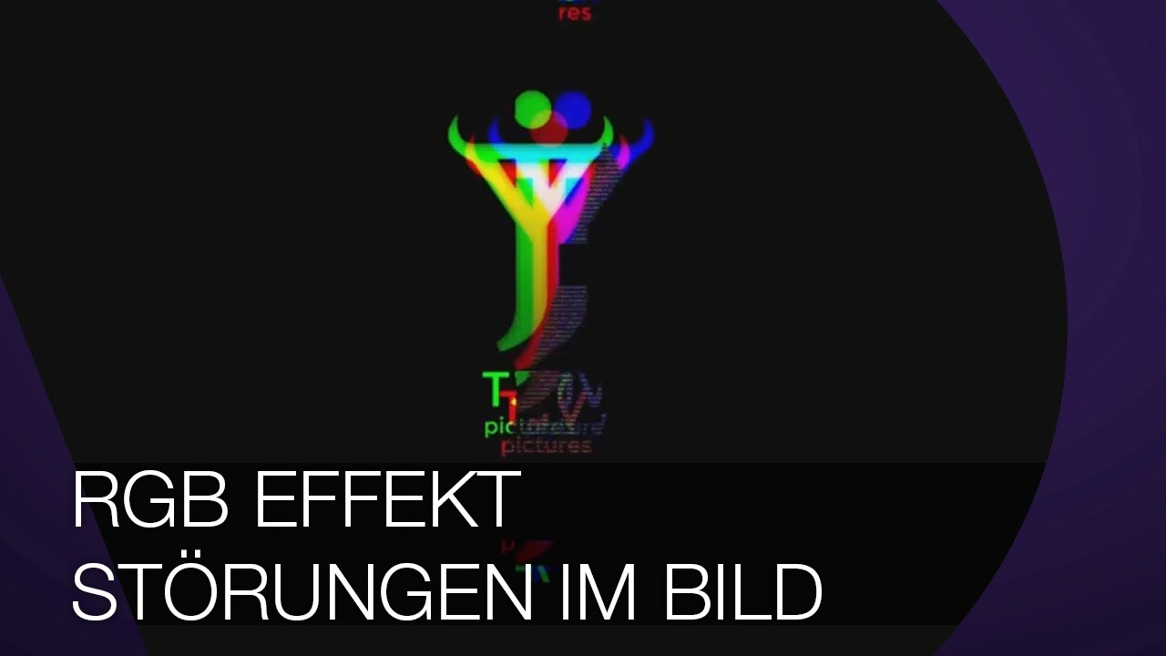 Glitch I RGB Effekt I Störungen im Bild I After Effects TUTORIAL - YouTube