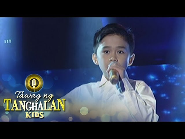 Tawag ng Tanghalan Kids: Mackie Empuerto | And I Am Telling You