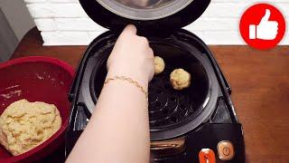 Есть дома творог Простейший рецепт творожных булочек в мультиварке без дрожжей Быстро и Просто
