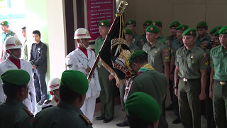 Acara Penyambutan Danrem 101 Antasari, Kolonel Arm M.Syafei Kasno