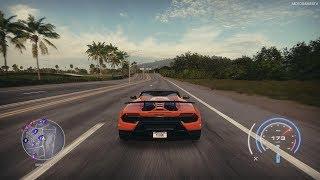 Need for Speed Heat - Lamborghini Huracan Performante Spyder '18 Gameplay [4K]
