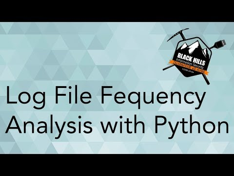 Log File Frequency Analysis with Python - YouTube
