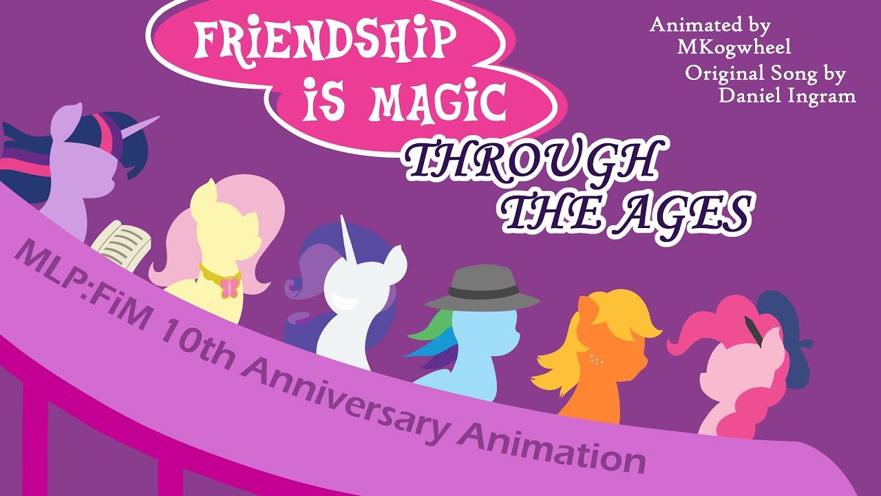 Przyjaźń to Magia aż po wieki - Animacja
