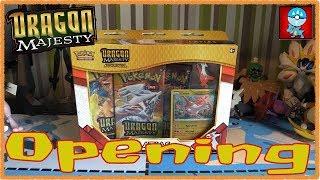 Pokemon TCG: Sun & Moon: Dragon Majesty Latias Pin Collection Opening!