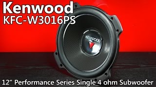 "Kenwood KFC-W3016PS 12"" 2,000 Watt Car Subwoofer"