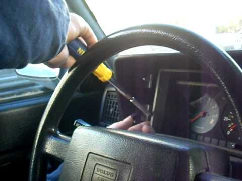 speedometer cluster removal