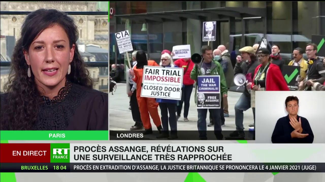 Download Fin du procès de J. Assange : le fondateur de WikiLeaks préparerait son suicide en cas d'extradition