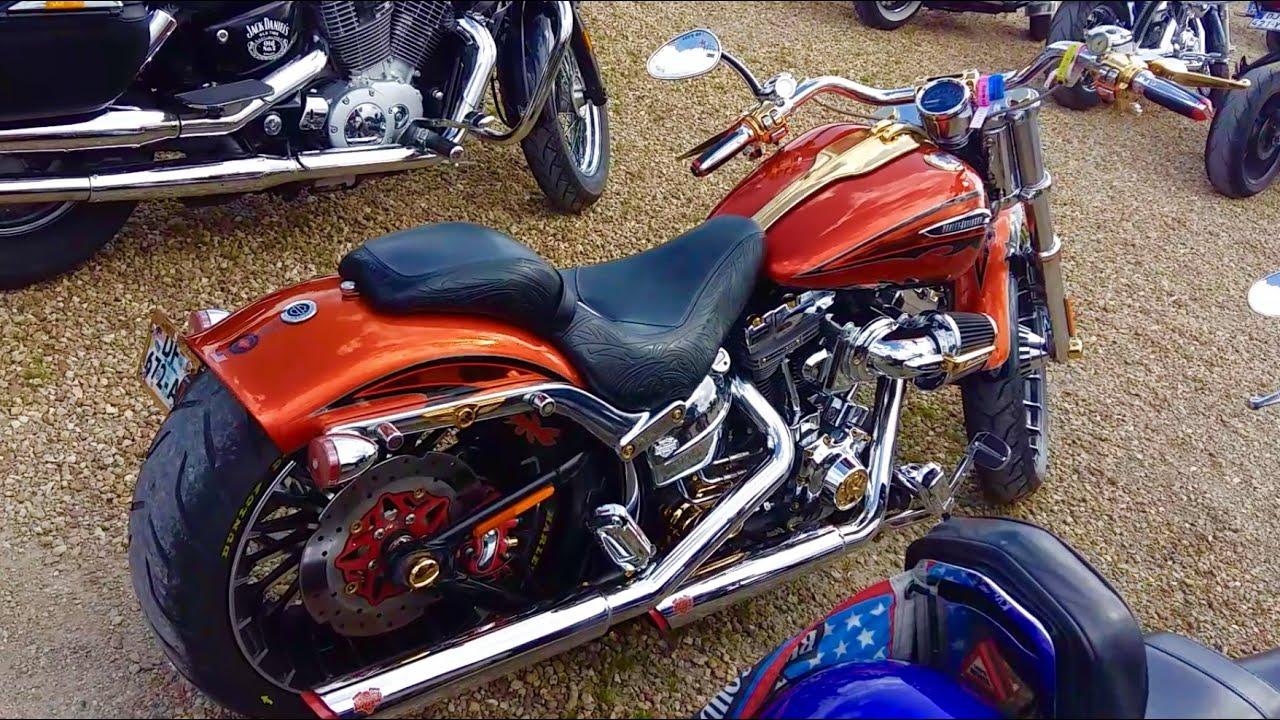 Harley Davidson Fr : harley davidson breakout cvo custom from france youtube ~ Medecine-chirurgie-esthetiques.com Avis de Voitures