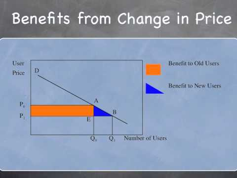 Benefit / Cost Analysis - Consumers and Producers Surplus