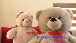 Easy to Learn Nursery Rhymes- Teddy Bear song for toddlers..