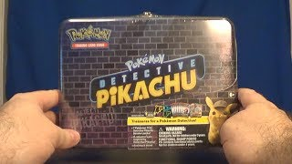 Opening a Pokemon: Detective Pikachu Teasure Box!