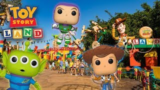 Toy Story Land Funko Pop Hunting! Video