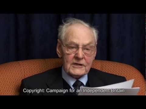 SIR TEDDY TAYLOR & LORD STODDART- .and the COMMON MARKET -a CIB Presentation (Hi res)