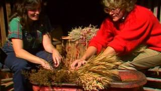 Drying Flowers and Grasses