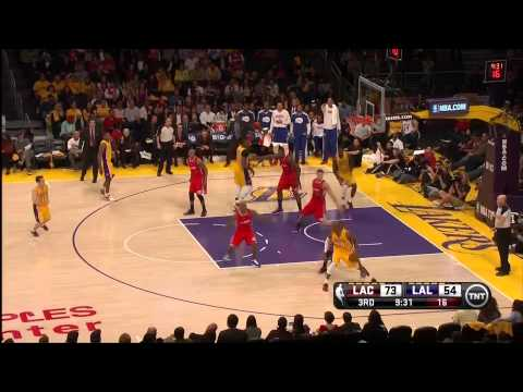02 14 2013   Clippers vs  Lakers   Team Highlights