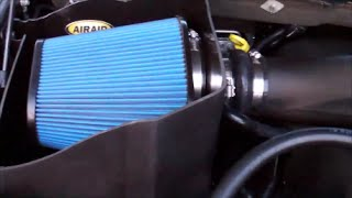 Airaid Cold Air Intake 2014 Dodge Ram 1500 5 7 L Hemi V8 Youtube