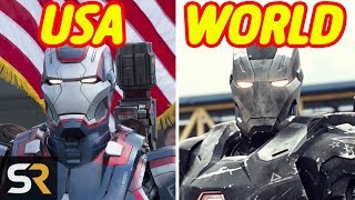 Marvel Movies That Were Changed In Other Countries