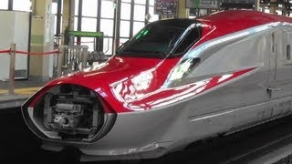 東北新幹線 E6系スーパーこまち・E5系はやぶさ連結シーン2本撮り+α Connection of Shinkansen thumbnail