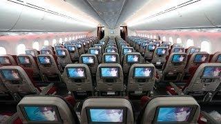 DREAMLINING TO DOHA!   QATAR AIRWAYS   ZURICH-DOHA   B787