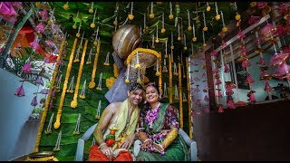 Telugu Brahmin Wedding, Vijayawada, India | by Doodle Studio  |  Celebrating Krishna & Manojna