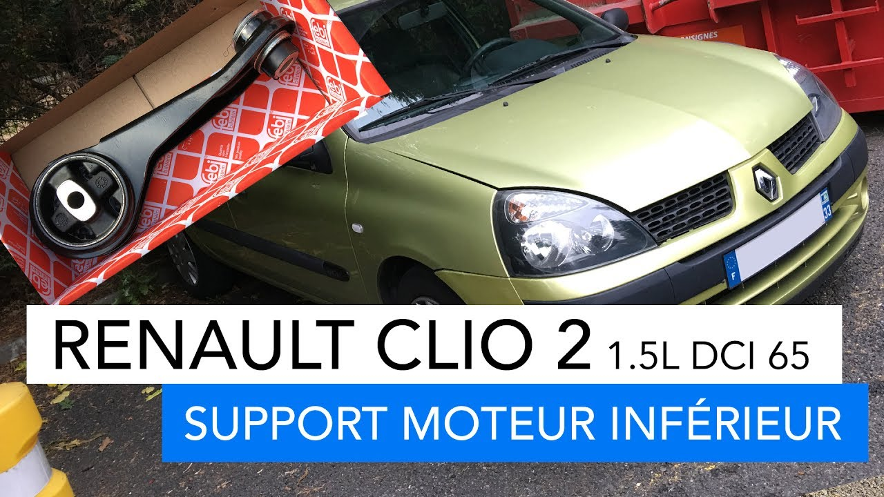 Renault Clio 2 Lower Motor Support 1 5l Dci 65cv