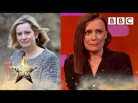 Keeley Hawes Reveals She Watched The REAL Home Secretary For Bodyguard - BBC The Graham Norton Show