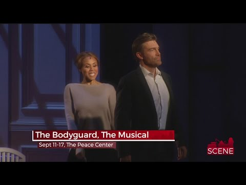 Deborah Cox and Judson Mills in The Bodyguard The Musical