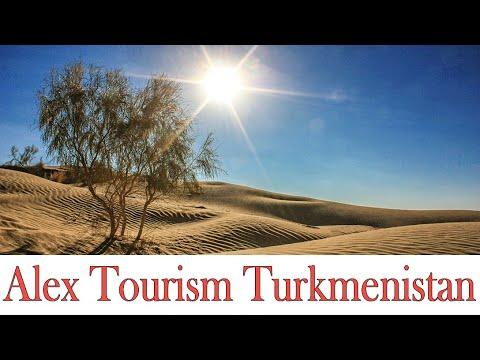 Красота пустыни Кара-Кум. Загадочный Туркменистан