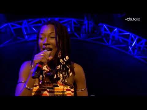 Fatoumata Diawara -  Dancing with me - Part of  dance - Baloise Session 2014