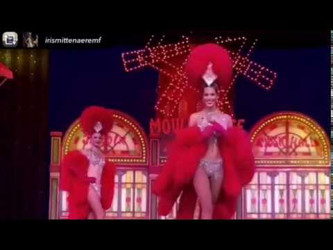 Iris mittenaere robe moulin rouge