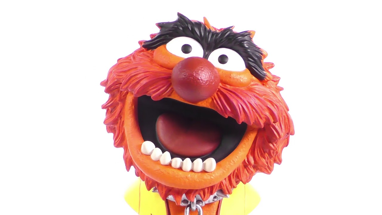 Legends in 3D Muppets TV Animal 1/2-Scale Resin Bust Unboxing + 360