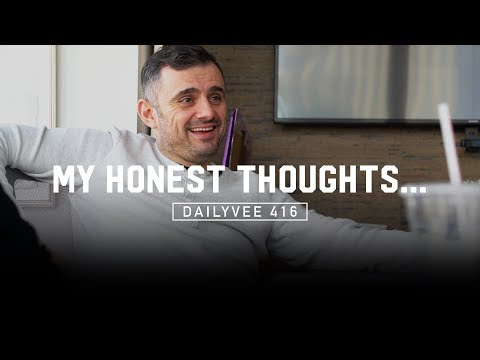 My Honest Opinion on Hard Work, Hustle, Rest, and Sleep | DailyVee 416