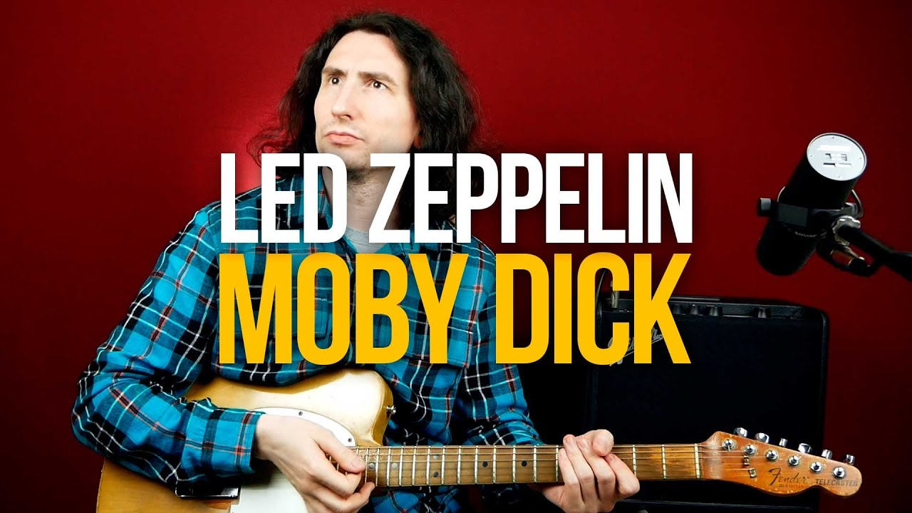 Как играть Led Zeppelin Moby Dick