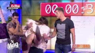 Benoît (Le Mag) lui soulève la robe en direct... Capucine Anav (très) énervée !