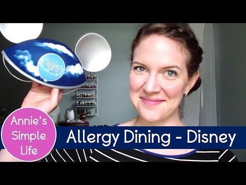Walt Disney World – Dining with Food Allergies