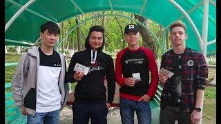 ДАРИМ ДЕНЬГИ ПОДПИСЧИКАМ / Ping-Pong Chellenge / День третий. Узбекистан.