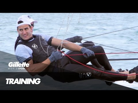 49er Training with Blair Tuke and Pete Burling | Gillette World Sport