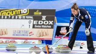 CURLING: SCO-SWE Euro Chps 2013 - Women Final