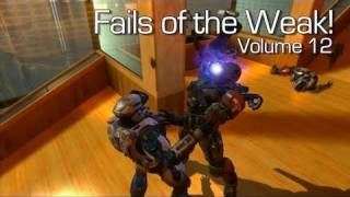 Fails of the Weak - Volume 12 - Halo 4 - (Funny Halo Bloopers and Screw Ups!)