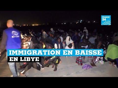Immigration en baisse en Libye