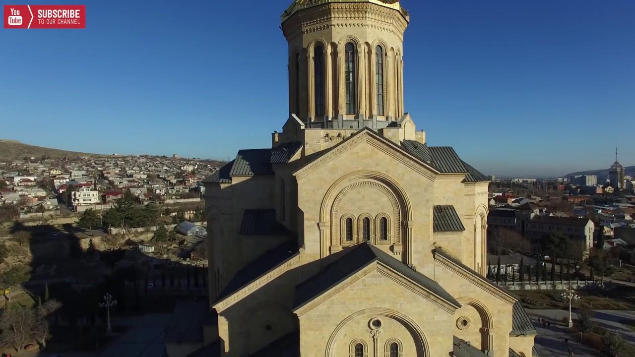 თბილისი ალილო შობა 4K Tbilisi Alilo Shoba 4K Christmas day in Georgia 2017